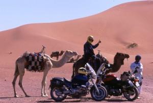 Marruecos, dunas Merzouga.