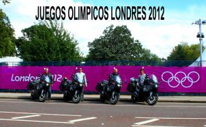 Working in Olympics with motorbikes