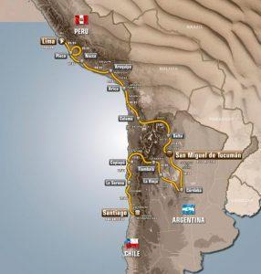 Recorrido Dakar 2013