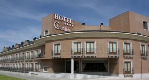 hotel dos castillas Avila