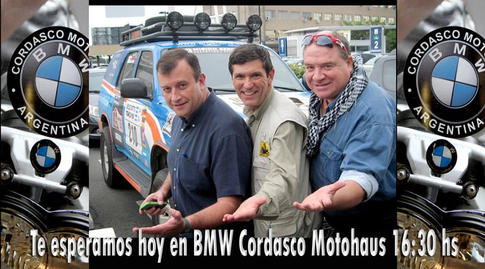 Emilio Scotto Emilio Quesada y Gustavo Cuervo
