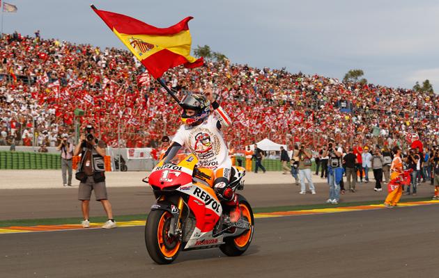 Marquez campeon motoGp 2013