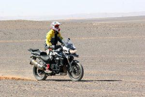 Desierto. Triumph 1200 XC