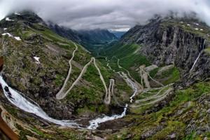 Carretera Trolls Noruega