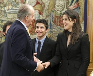 Juan Carlos I Laia Sanz, Marc Marquez