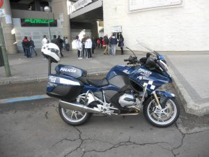 BMW R-1200 RT policia madrid