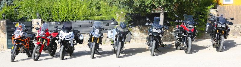 Maxitrail motos