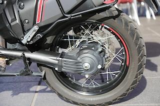 Yamaha cardan