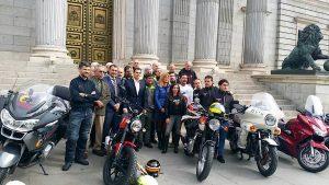 Congreso Diputados motos