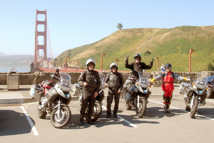 Vuelta al Mundo BMW Riders 6ª Etapa       Los Angeles- Seattle