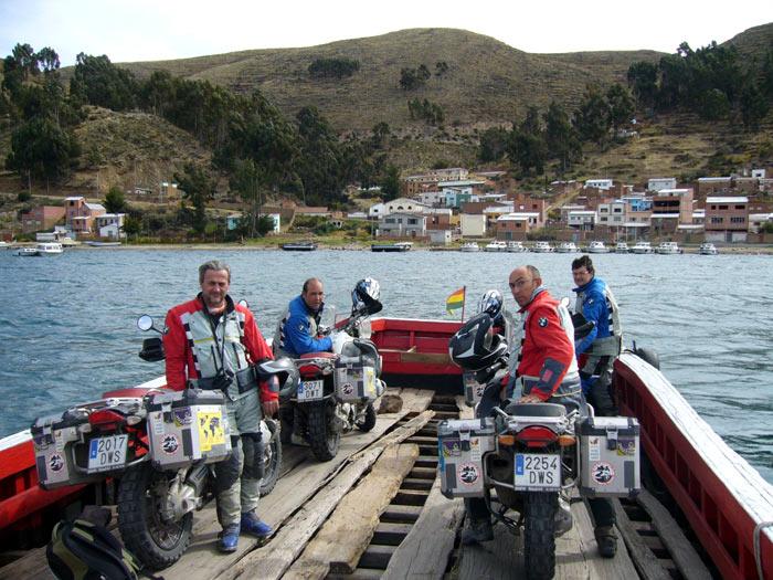 VUELTA AL MUNDO BMW RIDERS. 14ª ETAPA     Lima-La Paz