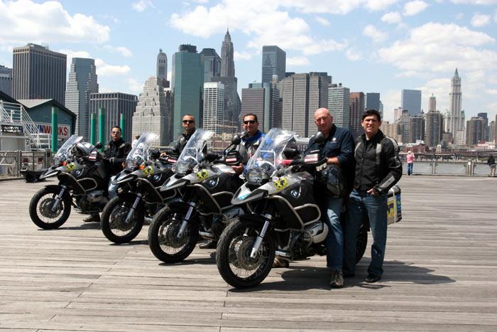 Vuelta al Mundo BMW Riders.             3ª Etapa Nueva York-Miami