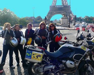 VUELTA AL MUNDO BMW RIDERS. 30ª ETAPA.  Paris-Madrid