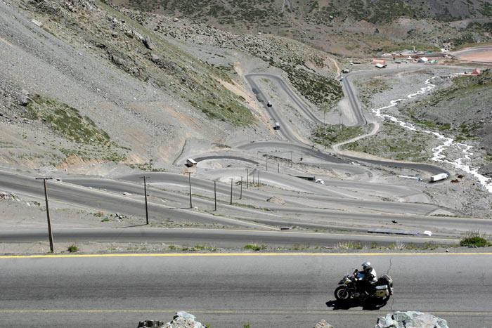 VUELTA AL MUNDO BMW RIDERS. 16ª ETAPA  Santiago de Chile-Buenos Aires