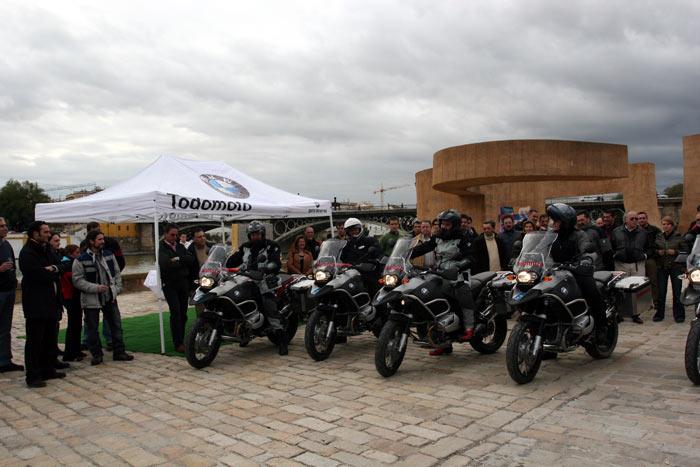 Vuelta al Mundo BMW Riders.  1ª Etapa Sevilla-Marrakech