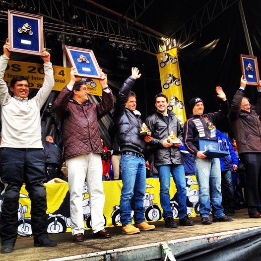 Gustavo Cuervo, Alex Crivillé, Carlos Checa, Hospital parapléjicos de Toledo, y Comision seguridad vial de Europa, premios Pingüinos 2014