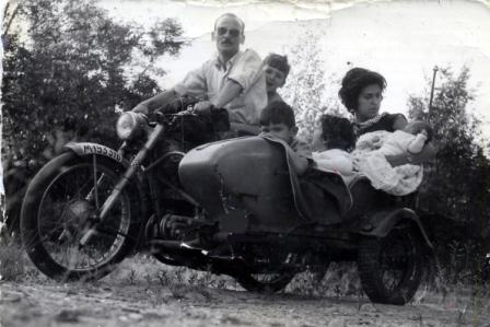 La Familia Cuervo en los Años 60