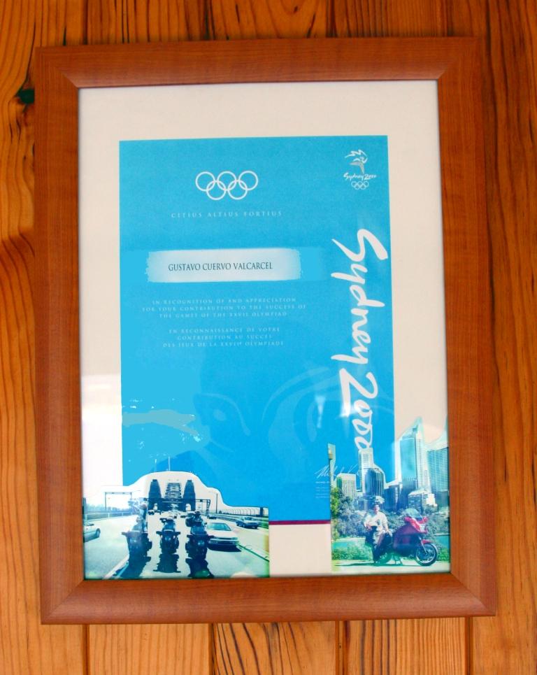 Diploma Olímpico de Sidney