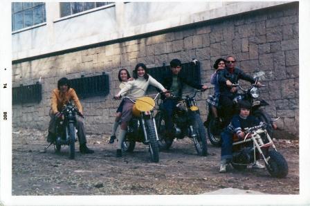 Familia Cuervo en 1970