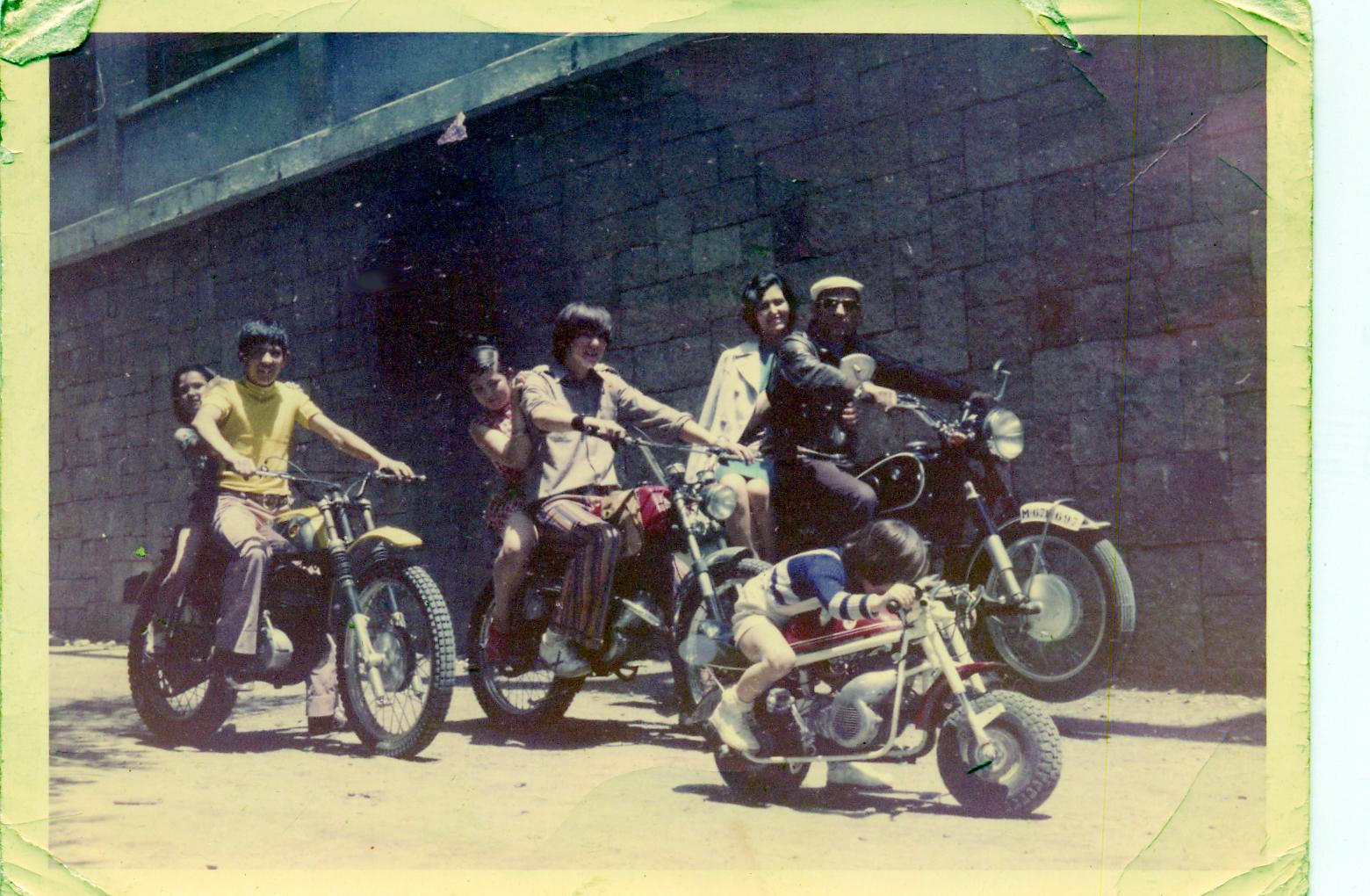 Familia Cuervo en los años 80
