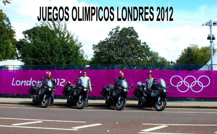 El trabajo de las motos en los Juegos Olímpicos