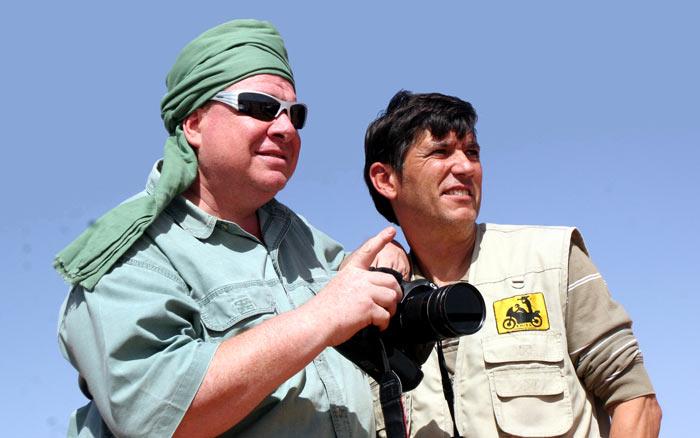 Marruecos con Scotto y Cuervo. Cap II. Por el desierto