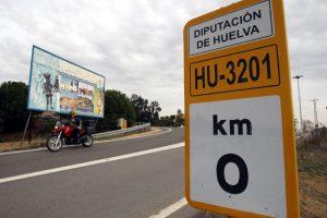 km-0 Huelva, España