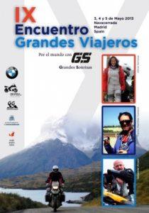 Cartel IX Encuentro Grandes Viajeros
