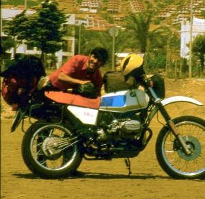 Gustavo y GS 80 en 1982