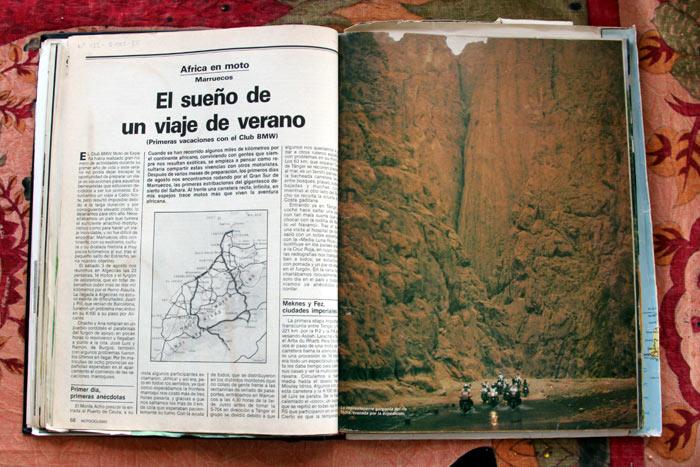 Revista Motociclismo Septiembre 1985