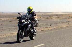 Gustavo Cuervo GS 1200 Marruecos