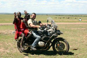 Kenia Samburu moto