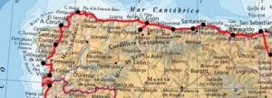 Mapa Cantábrico
