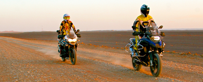 BMW Gs & Trium Explorer. Gustavo Cuervo