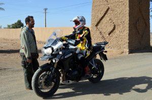 Triumph-Explorer-XC. Marruecos.