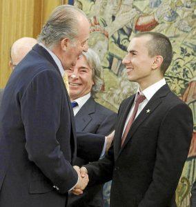 Juan Carlos i Angel Nieto, Jorge Lorenzo