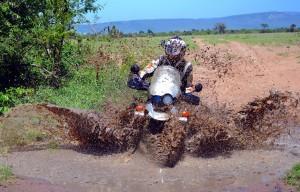 Kenia en moto