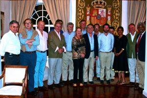 En casa del Embajador de España en Kenia.