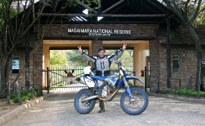 Gustavo Cuervo en Kenia