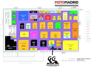 Salon moto plano