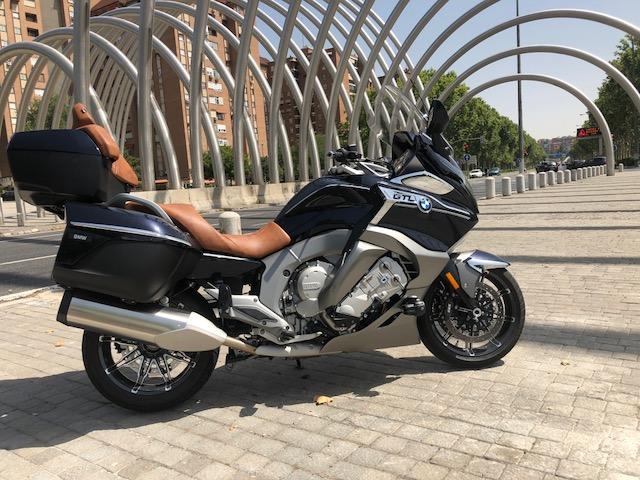 Prueba BMW K 1600 GTL