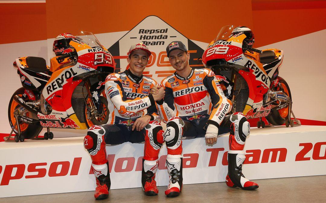 Presentación equipo Repsol-Honda. 25 años de victorias.